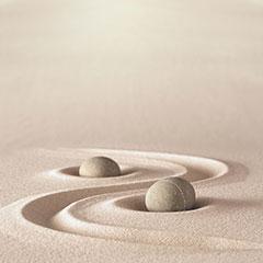 Sand - Steine